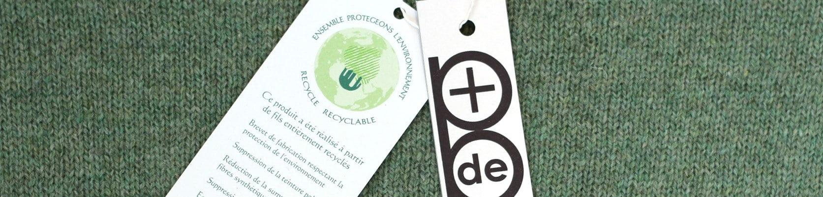 pull en laine recyclée
