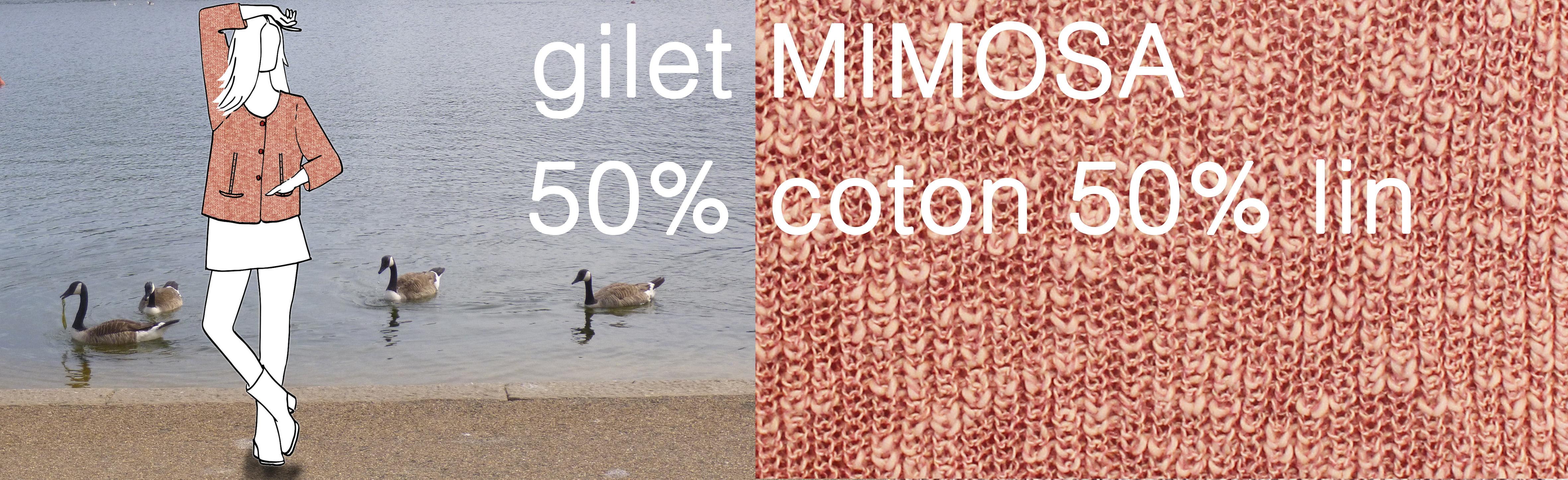 slider gilet mimosa