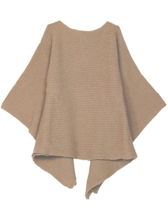 poncho ficelle