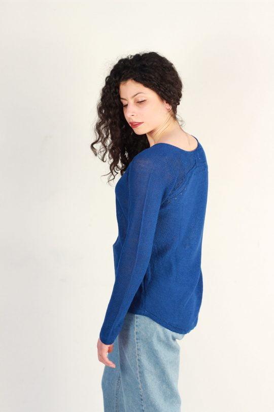 pull lin bleu