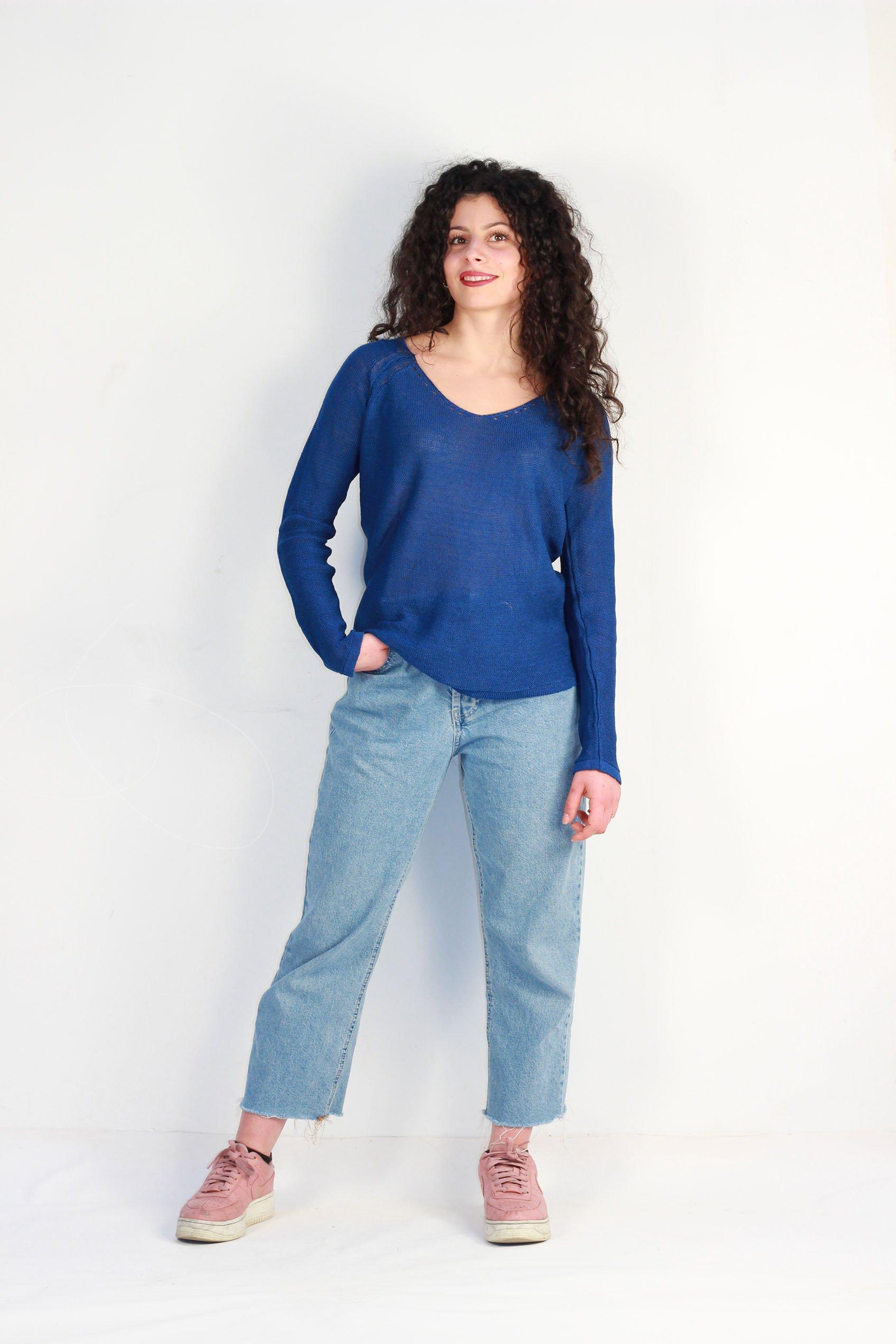 tee shirt bleu roi