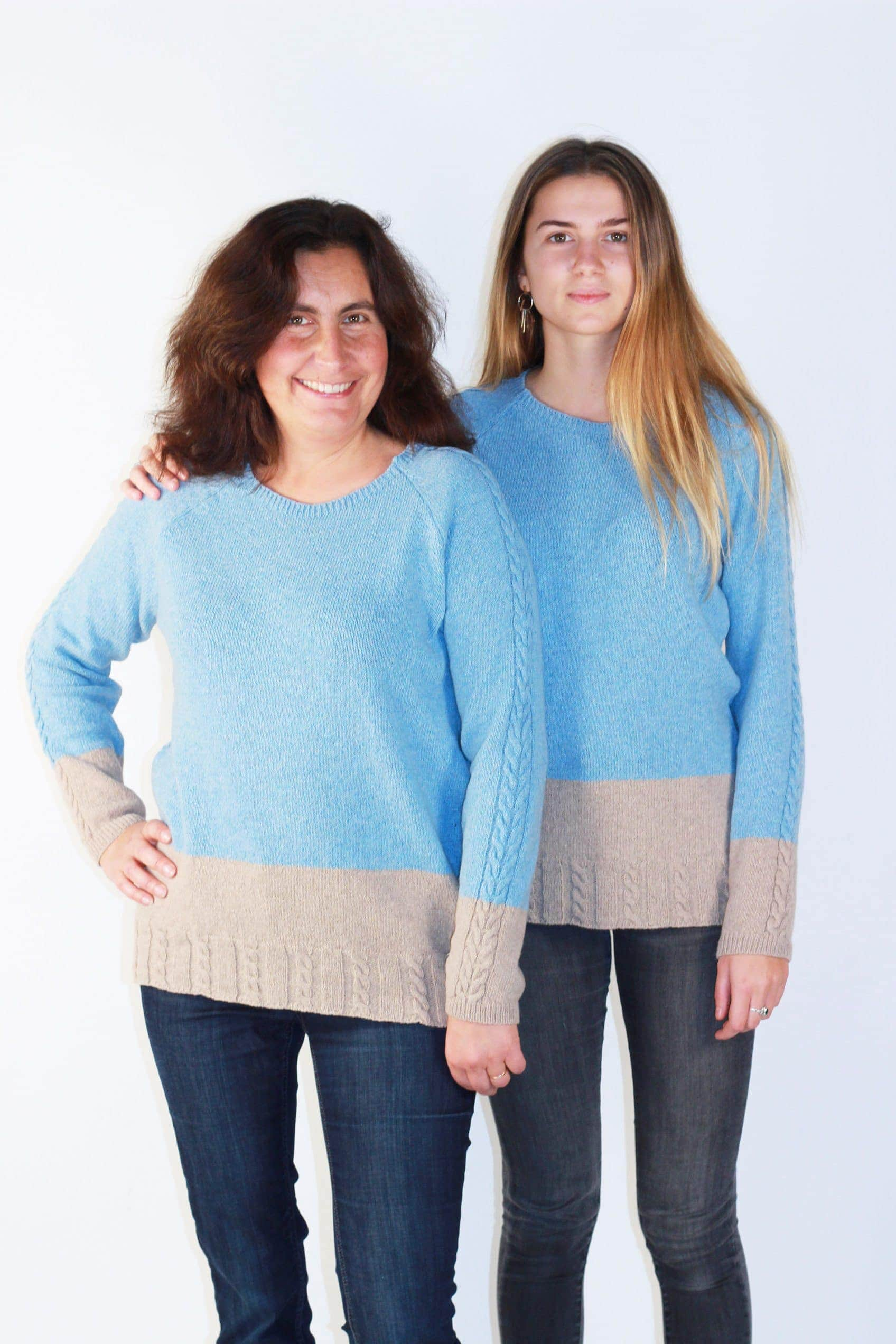 pull mère fille